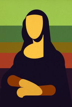 La Gioconda by Gast - Digital illustration Art Sketches, Art Drawings, Appropriation Art, Posca Art, Monalisa, Arte Pop, Grafik Design, Art Plastique, Geometric Art