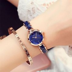 Buy KIMIO Rose Gold Watches Women Fashion Watch 2018 Luxury Brand Quartz Wristwatch Ladies Bracelet Women's Watches For Women Clock Elegant Watches, Stylish Watches, Beautiful Watches, Luxury Watches, Cool Watches, Women's Watches, Cheap Watches, Wrist Watches, Watches Online
