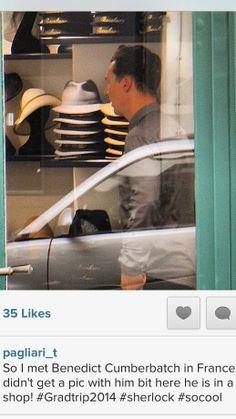 french hat shop Benedict Cumberbatch