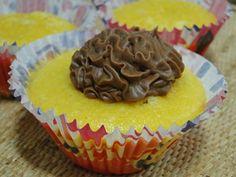 COZINHA DA MONICA: Cobertura de chocolate e doce de leite para cupcake.