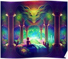 Cool trippy pictures that takes your mind on a LSD trip. Dope collection of weird trippy pictures to look at when your HIGH. When Drugs Meet Art. Art Lsd, Art Visionnaire, Trippy Pictures, Yoga Studio Design, Psychadelic Art, Visionary Art, Purple Aesthetic, Fractal Art, Sacred Geometry