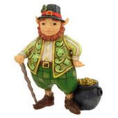 Irish Leprechaun Jim Shore Figure  border=