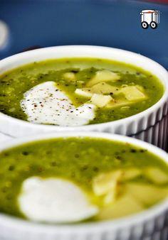 Szybko Tanio Smacznie: Zupa krem z zielonego groszku