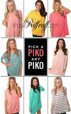 Pick a Piko any Piko!  ShopRiffraff.com has the best Piko selection!