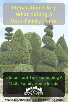 Preparation Is Key When Selling A Multi-Family Home - http://www.rochesterrealestateblog.com/5-tips-selling-a-multi-family-home/ via @KyleHiscockRE