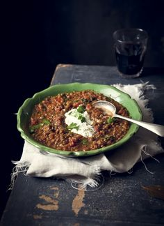 'Faki' (Greek vegetable and lentil soup) compliments ofReal LivingMagazine.The recipe http://homes.ninemsn.com.au/realliving/realfood/8497051/faki-greek-vegetable-and-lentil-soup