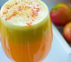 22 Healthy Ginger Recipes: Jazzy Apple Ginger Juice