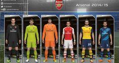 PES 2014 Arsenal 2014-2015 Forma – Kit GDB