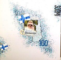 jehkotar: Suomi 100 Finland in my Scrapbooking