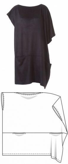 Очень простое платье