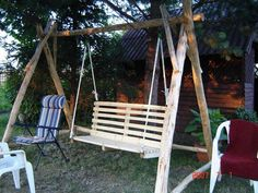the swing of logs