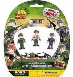 3 PCS SMALL ARMY /2025/ II WW FIGURINES st