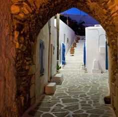 ANTIPAROS Island, Cyclades, Greece