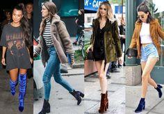 Quem ama o inverno? E a tendência da vez que eu mais amei são as botas de veludo. Vem saber como usar e onde comprar.