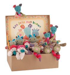 12 Assorted Characters from the Les Jolis pas Beaux line! #629251 #magicforesttoys #moulinroty