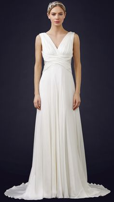 theia ruched chiffon gown || Can't Afford It? Get Over It! Naomi Neoh's Clementine for Under $1000