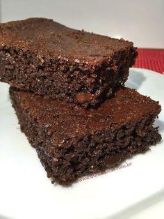Brownie sem farinha e oleaginosas - Fit Food Ideas