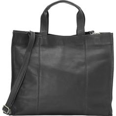 Buy the Piel Carry-All Tote at eBags - Elegant and sophisticated, this large leather tote bag offers fashion and function for everyday use. Large Leather Tote Bag, Small Wallet, Handbags On Sale, Travel Luggage, Carry On, Messenger Bag, Gym Bag, Satchel, Shoulder Bag