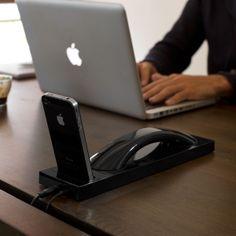 batman iphone cradle & handset
