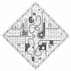 romariconnessa:  Plan by John Hejduk