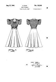 1940 DRESS ENSEMBLE  Samuel Zahn