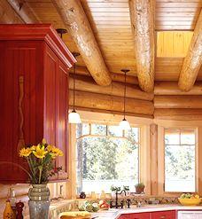 Floor Joists | Real Log Homes | Real Log Homes