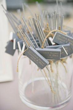 Wedding Sparklers Ideas and Inspiration - Sparkler