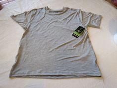 Umbro Motion Control UX-Training T shirt active Mens S M11326N Steel grey hthr #Umbro #activeshirt