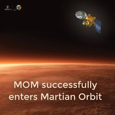 Space history was made today when India's car sized Mars Orbiter Mission (MOM) successfully fired its braking rockets and arrived in Mars orbit today (Sept 23 EST/Sept 24 IST) on the nation's first attempt to explore the Red Planet. Indeed MOM is India's maiden interplanetary voyager. India thereby joins an elite club of only three…