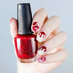 OPI - My Vampire is Buff & All I Want For Christmas (is OPI).
