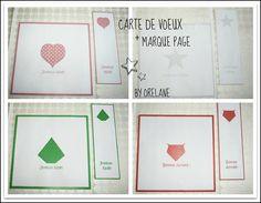 Cartes de voeux et marque pages à imprimer gratuitement