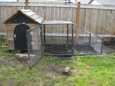 how to convert a dog house into a chicken coop