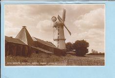 2UK746 Hickling Windmill Norfolk Broads Judges Photo Pc | eBay