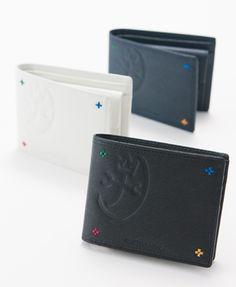 二つ折財布<アバ>