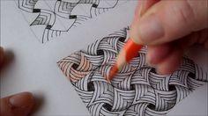 How to draw tanglepattern Flip Flap