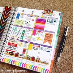 Erin Condren brings fun and functionality together with personalized and custom products including the LifePlanner™, notebooks, stationery, notecards and home décor. Agenda Planner, Planner Layout, Erin Condren Life Planner, Planner Pages, Printable Planner, Happy Planner, Planner Stickers, Planner Ideas, Printables