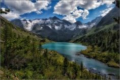 Поперечное озеро,Алтай