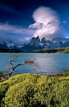 Patagonian clouds - Click image to find more Science & Nature Pinterest pins