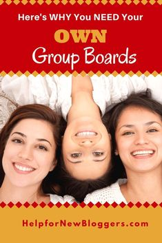 Joining other people's group boards on Pinterest is very important. But a much BETTER strategy is to create your OWN group boards. I've got about a dozen very successful group boards and I leverage them to create success for myself in several different ways. #helpfornewbloggers #pinterestgroupboards #pintereststrategies #bloggershelpingbloggers #smartandstrategic Social Media Tips, Social Media Marketing, Digital Marketing, Marketing Strategies, Marketing Tools, Business Marketing, How To Get Followers, Group Boards, Pinterest For Business