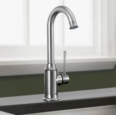 The Hansgrohe Talis C single handle bar or prep faucet is perfect for your kithen. Faucets Hansgrohe 04217800