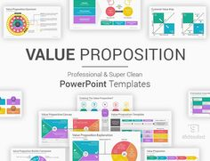 Value Proposition PowerPoint Template - SlideSalad Ppt Template, Powerpoint Presentation Templates, Value Proposition Canvas, Target Customer, Statement Template, Marketing Plan, All The Colors, Color Schemes, Messages