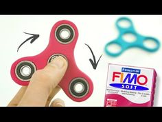 Fabriquer un HAND SPINNER en pâte FIMO - YouTube