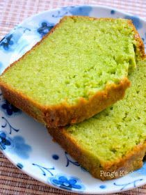 Peng's Kitchen: Pandan Kaya Butter Cake