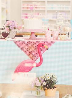 Blog Brasília | Ilustra, Design, DIY Matheus Fernandes: picnic flamingo party