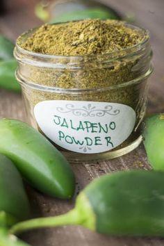Homemade Spices, Homemade Seasonings, Homemade Recipe, Jalapeno Recipes, Tuna Recipes, Recipes With Jalapenos, Hot Pepper Recipes, Burger Recipes, Dried Peppers