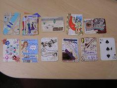 DigThisArt by Paula Radl: TEACHING HOW TO MAKE AN ARTIST TRADING CARD (ATC)