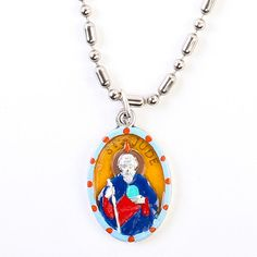 Special Grace Necklace, $20, now featured on Fab. (patron saint of desperate cases and lost causes)