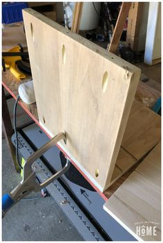 Organize and charge your many electronic devices with this DIY Charging Station. Learn how to easily make one out of scrap wood! Electronic Charging Station, Woodworking Kit For Kids, Diy Projects For Bedroom, Kitchen Cabinet Design, Electronic Devices, Drafting Desk, Diy Home Decor, Shelves, Organization
