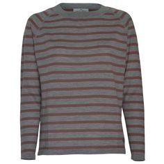 Stine Stripes - Dark Grey/Blush