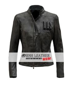 New Han Solo Star Wars Women Stylish Leather Jacket  #BNH #BasicJacket
